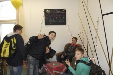 Herzlich willkommen im Schülercafe